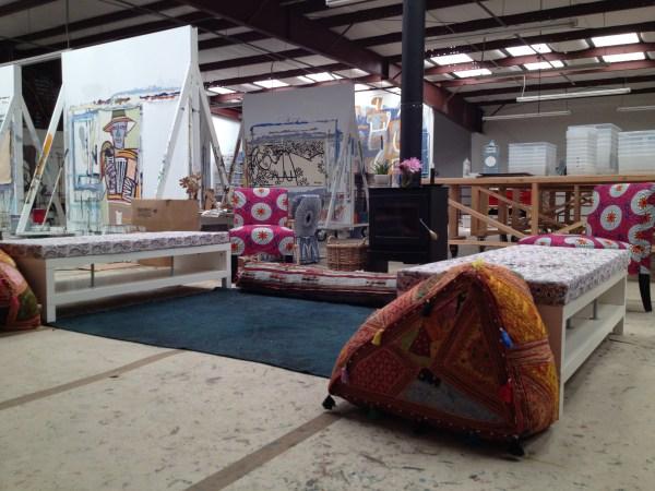 img 39861 STUDIO VISIT WITH ARTIST AMERICA MARTIN   The Sche Report / Margaret Sche
