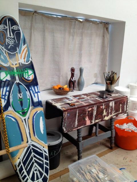img 4010 STUDIO VISIT WITH ARTIST AMERICA MARTIN   The Sche Report / Margaret Sche