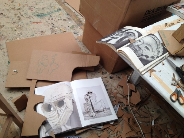 img 4011 STUDIO VISIT WITH ARTIST AMERICA MARTIN   The Sche Report / Margaret Sche