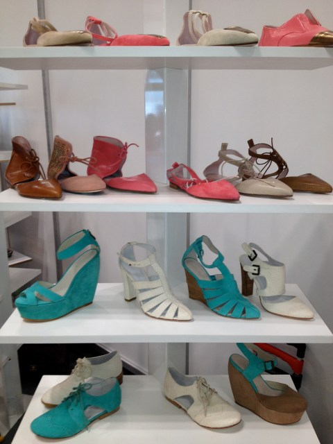 img 5535 A LOOK AHEAD:  SPRING 2013 SHOE TRENDS   The Sche Report / Margaret Sche