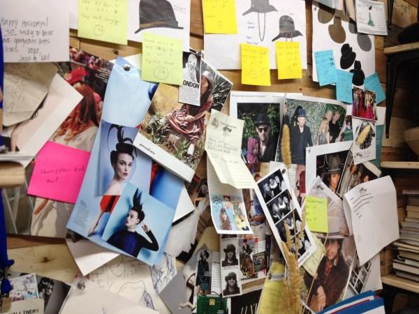 img 7519 STUDIO VISIT:  GLADYS TAMEZ MILLINERY   The Sche Report / Margaret Sche