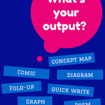 Input…Output for your Science Notebooks