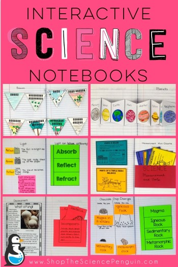 Interactive Science Notebooks from The Science Penguin