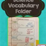 Science Vocabulary Folders
