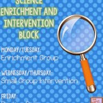 Planning for Intervention and Enrichment