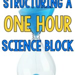 Structuring a ONE HOUR Science Block
