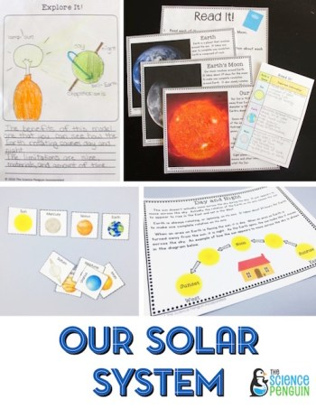 Space Science Stations- focuses on our solar system and day/night