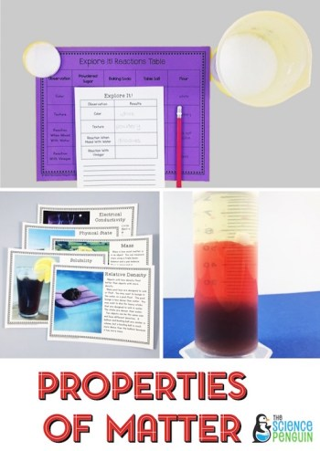 Properties of Matter BIG Science Stations Units