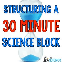 Structuring a 30 Minute Science Block