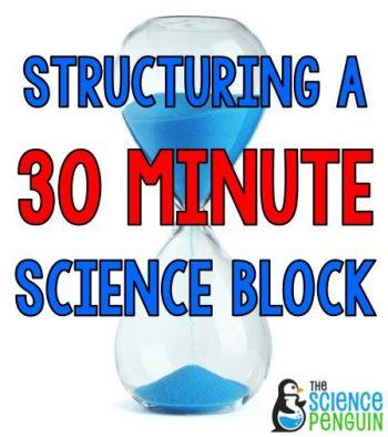 30 Minute Science Block