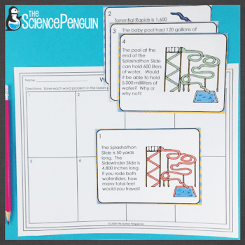 5th Grade Math Test Prep Centers-- 9 fun and challenging review activities