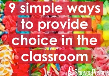 9 Simple Ways to Provide Choice in the Classroom