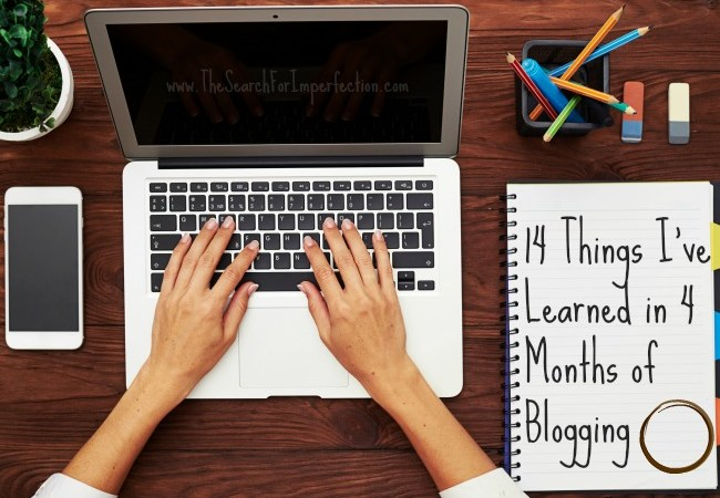 14 Things I've Learned In 4 Months of Blogging