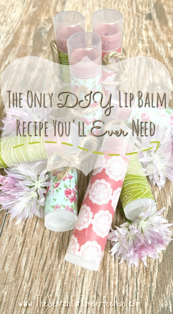 This incredibly easy lip balm recipe is the only one you'll ever need.