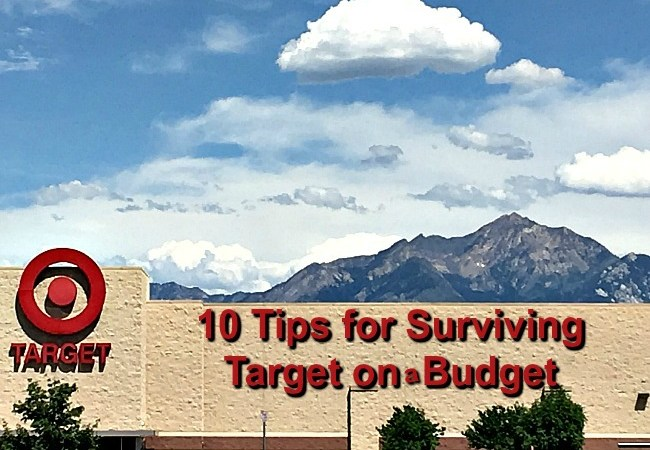 10 Tips for Surviving Target on a Budget