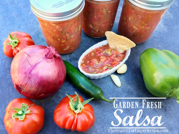 How to Make Garden Fresh Salsa – And How to Can It