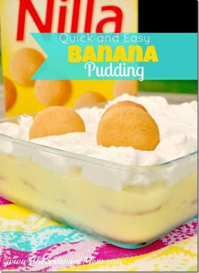 Summer + Quick and Easy Banana Pudding - The Seasoned Mom