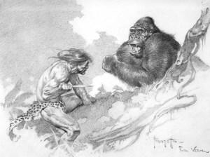 Frank Frazetta Tarzan