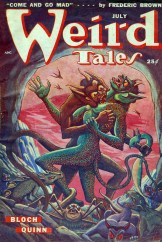 Weird Tales July 1949, dark fantasy