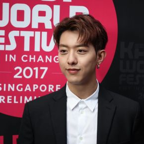 [SINGAPORE] Surprise Appearance by CNBLUE's Lee Jung Shin At KBS KPOP World Festival Preliminary In Singapore
