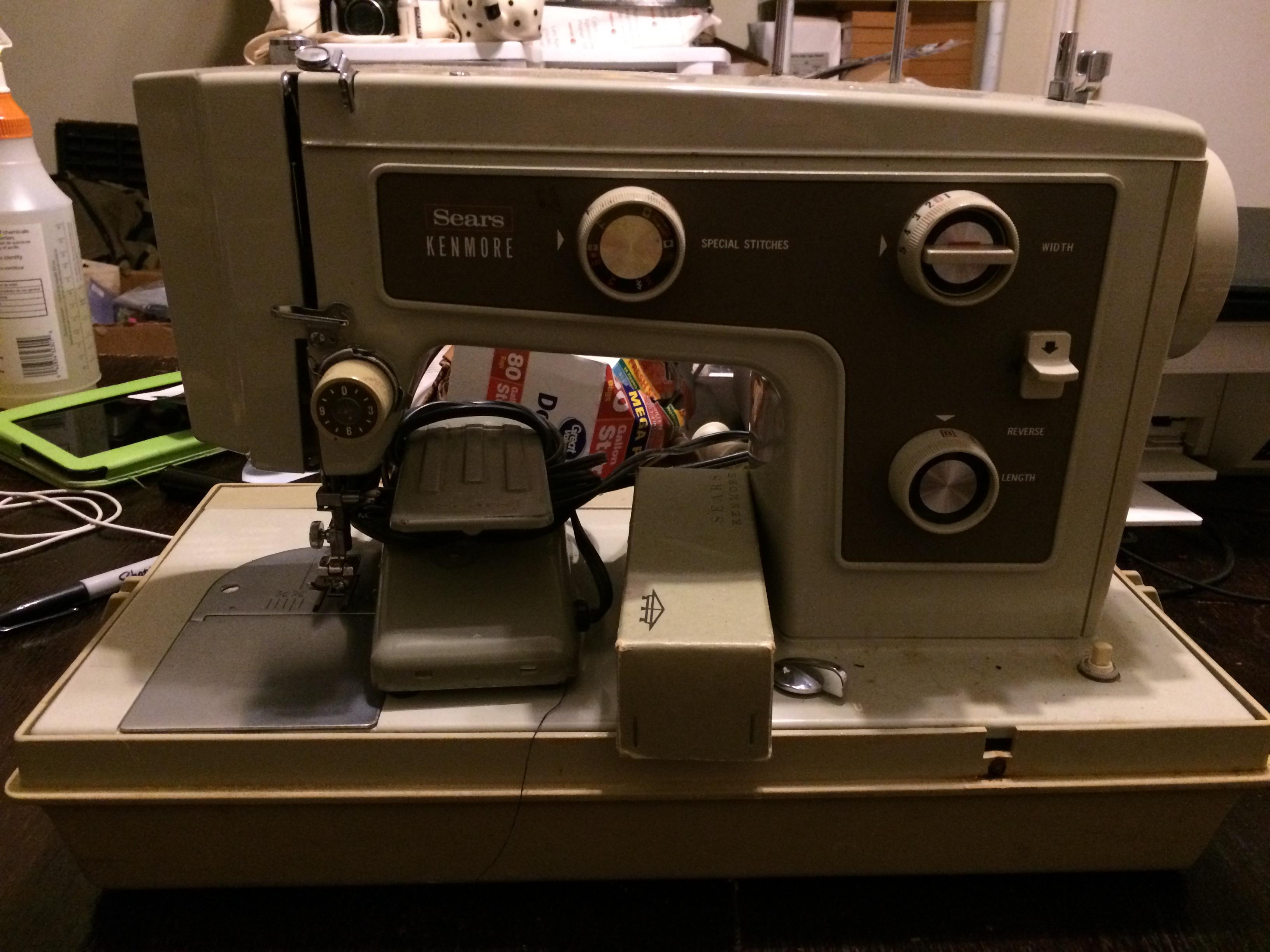 Fullsize Of Sears Kenmore Sewing Machine