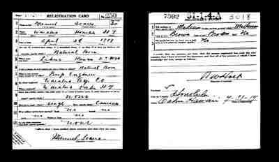 Military Records – Silva Family Genealogy Research Log