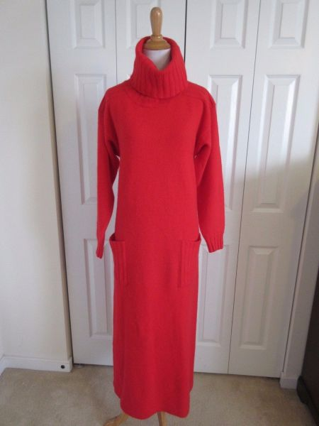 Garfinckel's Vintage Wool Blend Dress