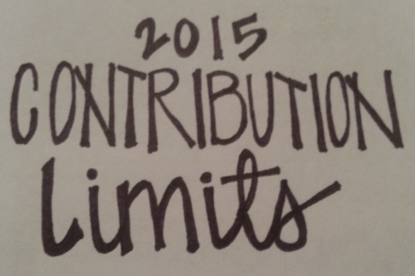 2015 Contribution Limits; 2015 401k contribution limits increased