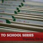 Storing Kids Schoolwork | part II
