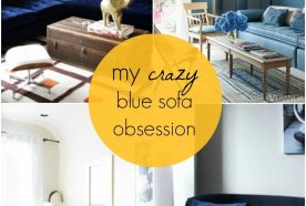 Obsession | Blue Sofa