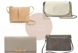 Four Finds | Neutral Cross Body Handbag