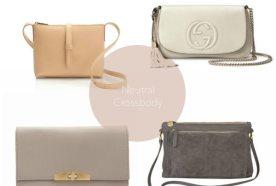 Four Finds | Neutral Cross Body Handbag
