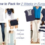 How to Pack for 2 Weeks in Europe {All in a carry-on!}