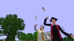 畢業派對。