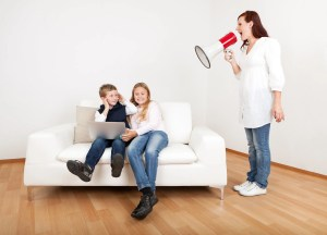 Yelling at your kids, The Single Mom Blog