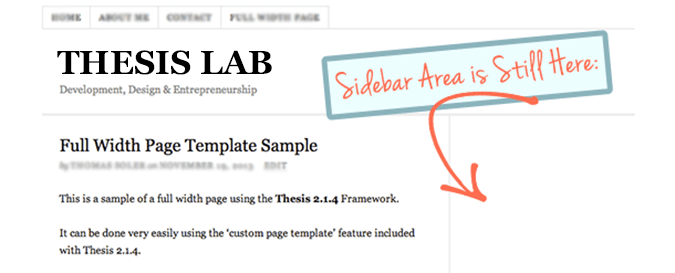 Thesis custom sidebar background