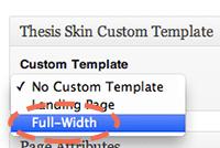 Add custom body class thesis
