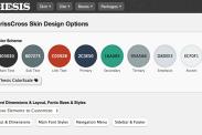 Criss Cross Design Options