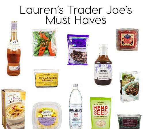 Trader Joe's Must Haves