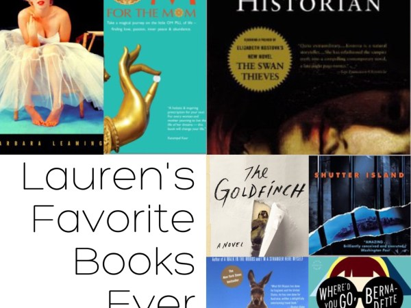 Lauren's Favorite Books Ever