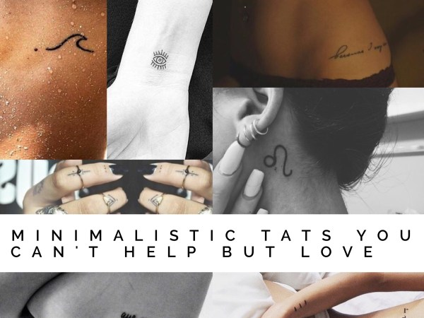 Minimalistic Tats You Can't Help But Love