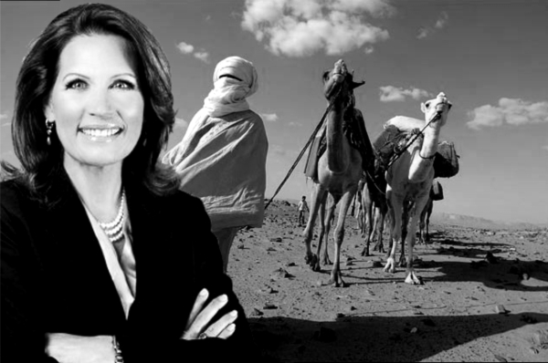 Michele Bachmann Opposes No-Fly Zone in Favor of No-Mosquito Zone
