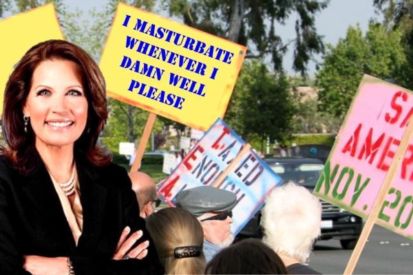 Compulsive Masturbation 'Unconstitutional' Says Bachmann