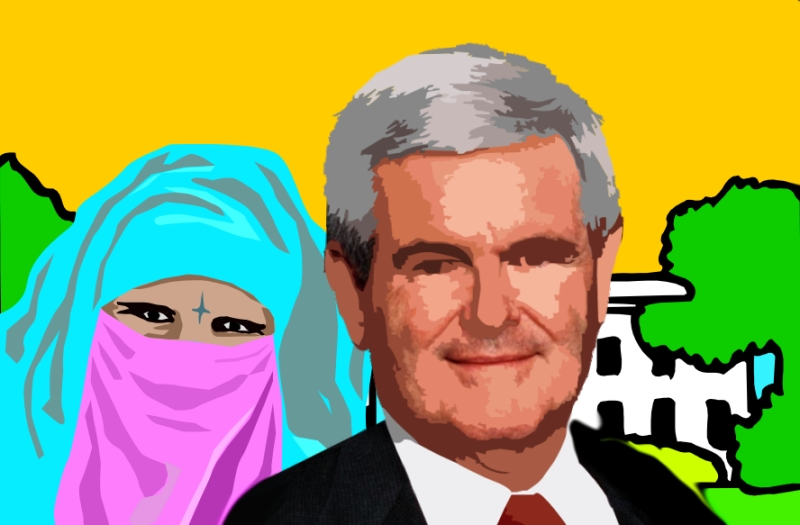 Gingrich to Marry bin Laden Wife No. 7