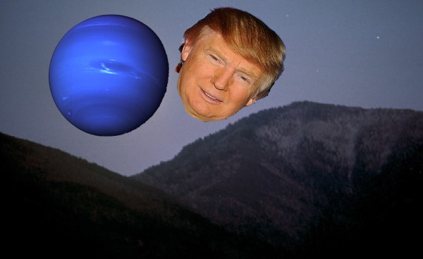 Uranus to Appear as Large as Donald Trump's Head on August 27th