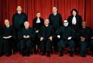 Supreme Court with Dead Scalia