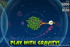Angry Birds Space iPhone Screenshot 2 300x200 Angry Birds Space iPhone Review screenshot