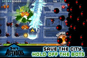 Sky Defenders iOS review screenshot 1 300x200 Sky Defenders iPhone Review screenshot