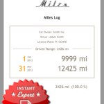 Miles Log iPhone Review screenshot
