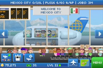 Pocket Planes Screen 1 Pocket Planes iOS Review screenshot